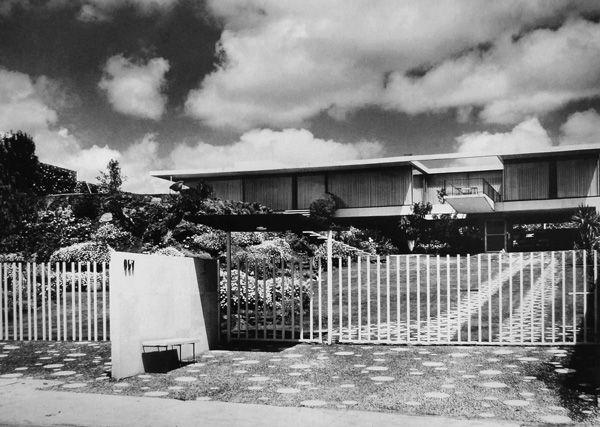 Casa Zapata Buendía 1957-1959  Col. Pedregal de San Ángel.  México D.F.  Arq…