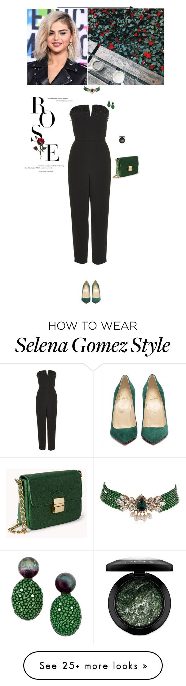 """""""Без названия #1753"""" by anastasiiastyles on Polyvore featuring Topshop, MAC Cosmetics, Shourouk and Forever 21"""