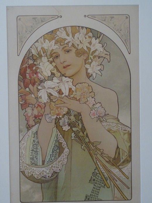 Alfons Mucha at the Gallery of Art, Prague - Image 35