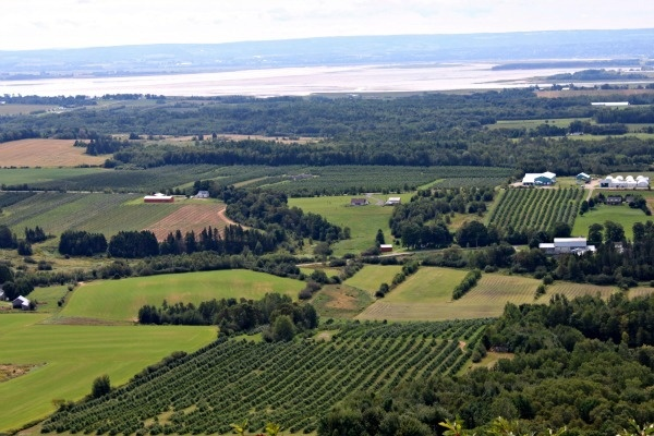 East Coast Travels - The Look Off Annapolis Valley, NS