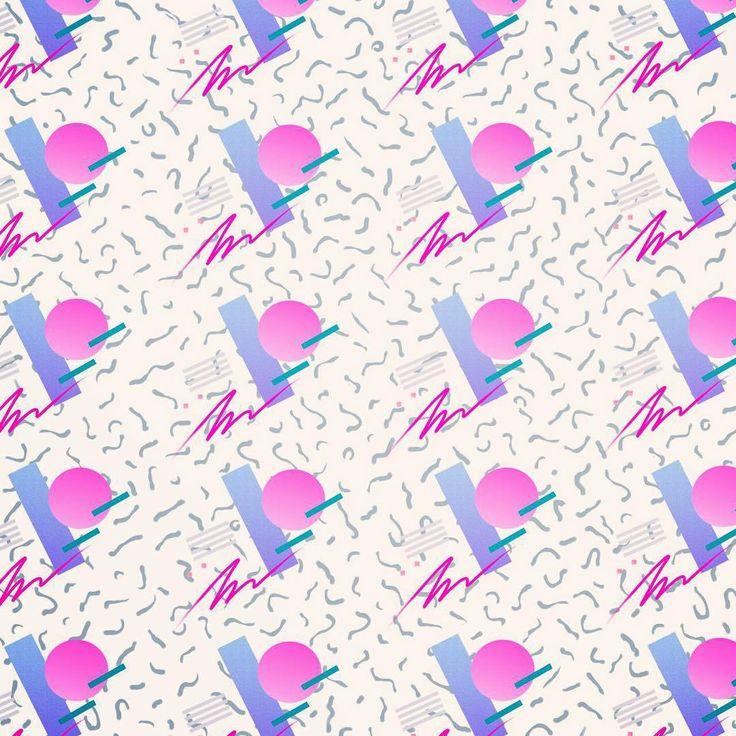 Yoko Honda Creates Incredible 80's Inspired Patterns