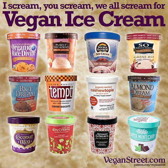 I scream, you scream, we all scream for #vegan ice cream
