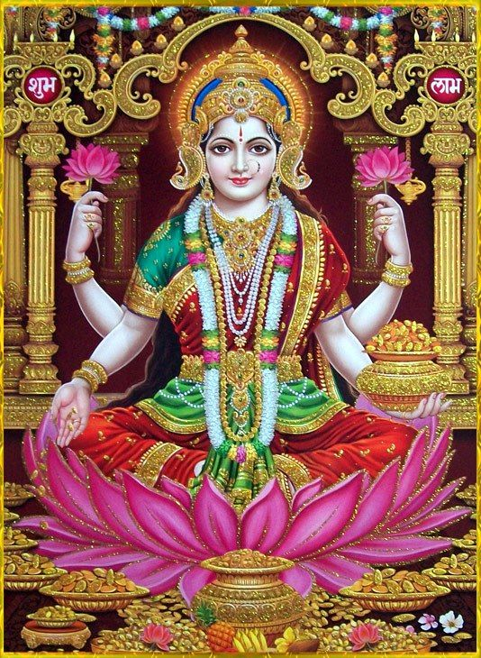 Lakshimi, Think I look like her!=P Hindu goddess of wealth, prosperity, fortune, and beauty!