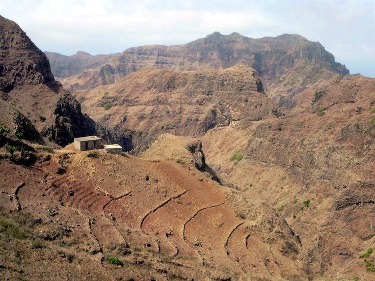 The Serra de Malagueta in the center of Santiago Island, Cape Verde, offers many scenic hikes.