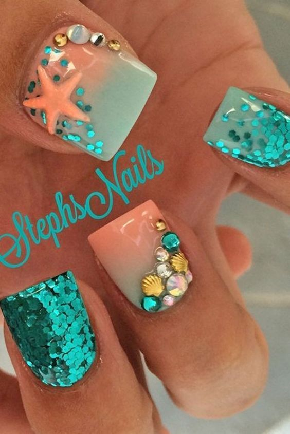 Bright Nail Art Ideas picture 3 - Bright Nail Art Ideas Picture 3 Nails Pinterest Bright Nail
