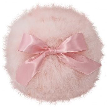 Powder Puff Dec Pillow - Soft Pink