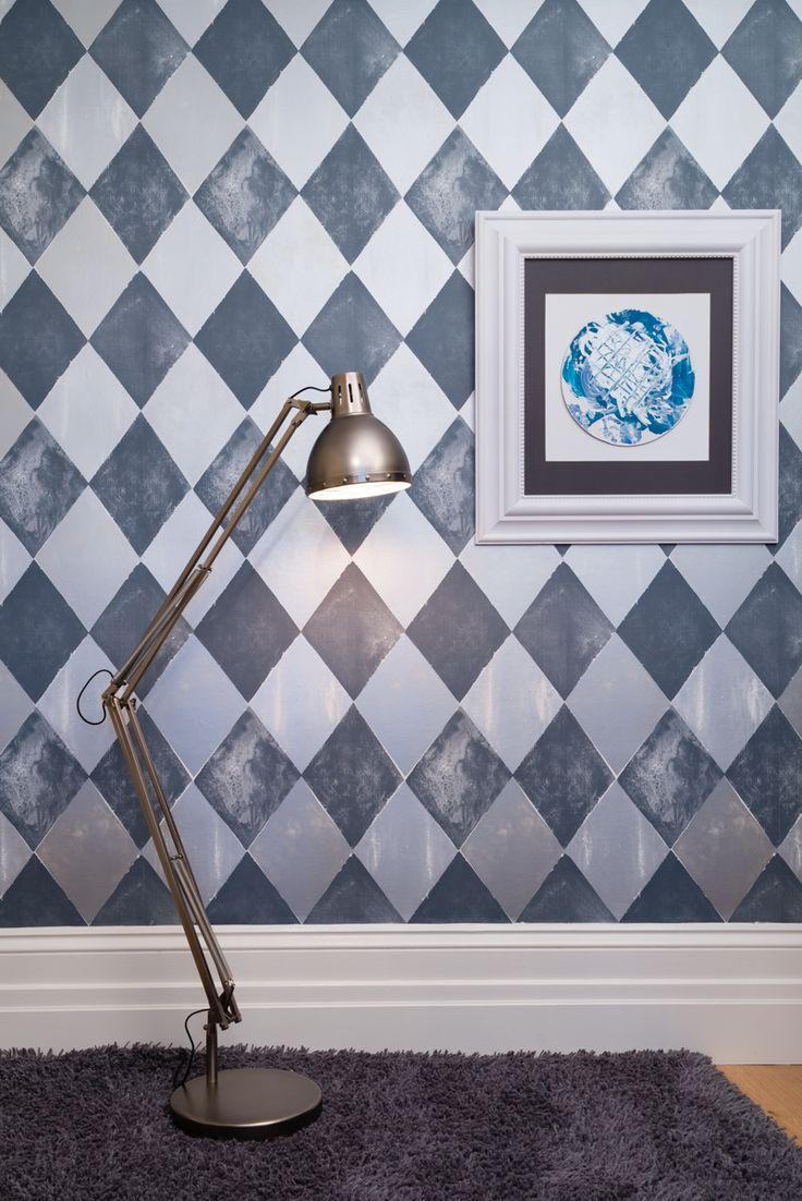 Stunning Tapet Cafe wallpaper design called Harlequin.