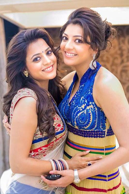 Nisha Agarwal and Kajal Aggarwal