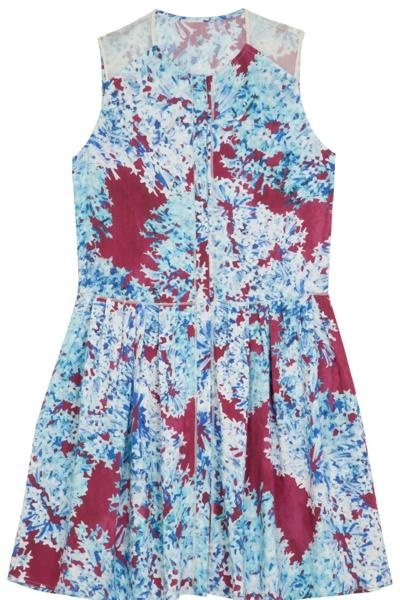 Stand out from the crowd in this rich floral print from Comptoir des Cotonniers x Calla
