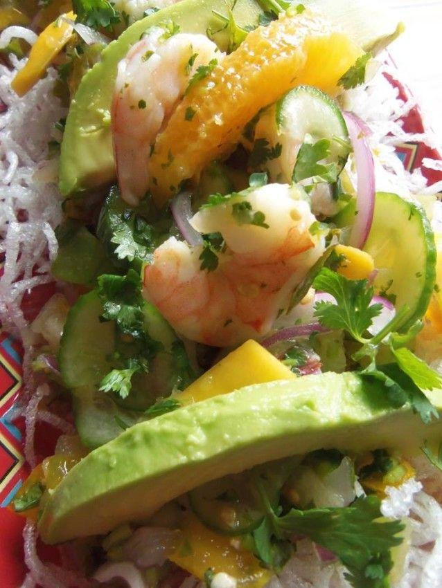 Tropical Shrimp Ceviche | Tropical, Ceviche and Shrimp