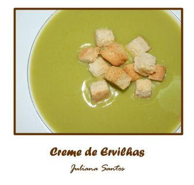 Receitas - Creme de Ervilhas - Petiscos.com