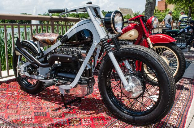 Totally Customized 1950 Nimbus.
