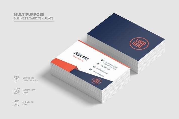 Multipurpose business card template05 creative c cool business multipurpose business card template05 creative c cool business card template by fdesign nerd pinterest card templates business cards and template reheart Images