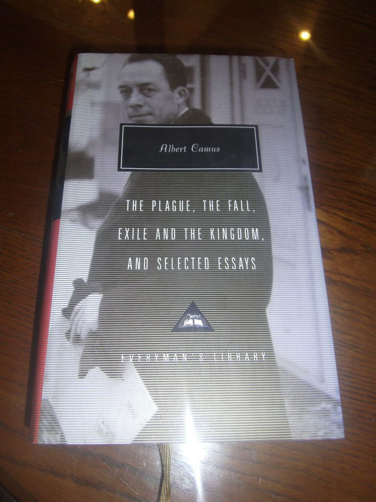 essays by albert camus Albert camus, (1913 and the horror of human mortality all figure prominently in his volumes of so-called algerian essays:l'envers et l'endroit (the wrong side.