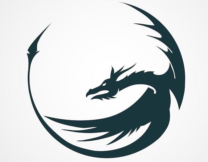 Bilder drachen tattoos Drachen und