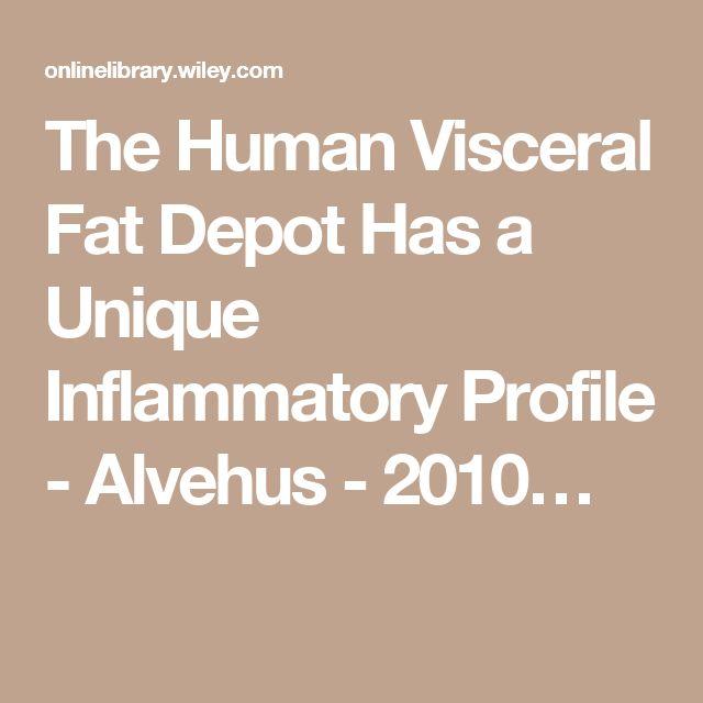 The Human Visceral Fat Depot Has a Unique Inflammatory Profile - Alvehus - 2010…