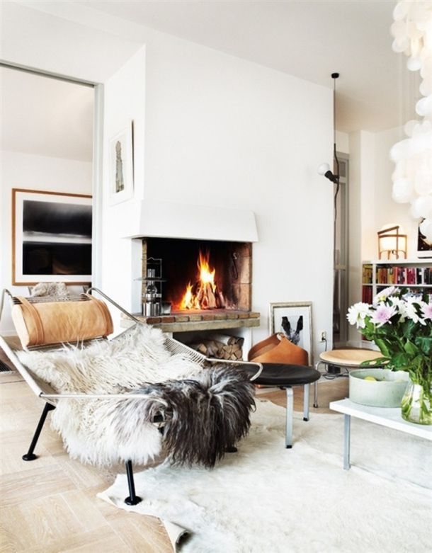 Cozy Modern Living Room With Fireplace 316 best living rooms images on pinterest | living spaces, family