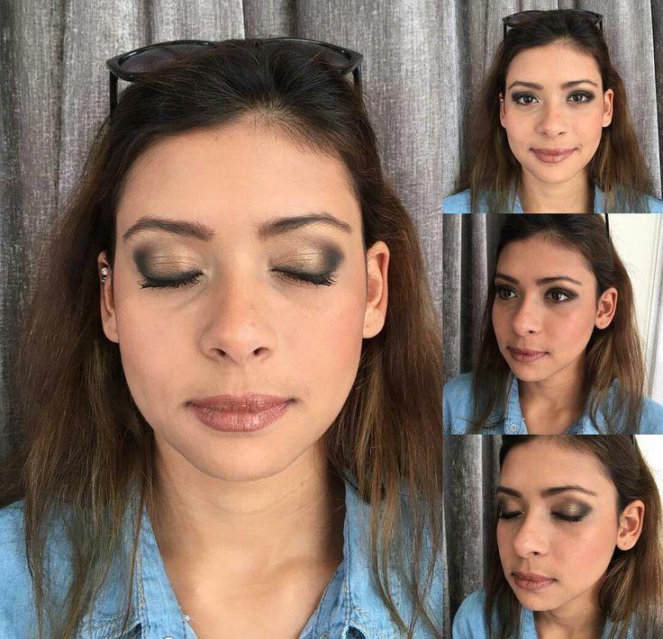 Golden Smokey Eye @nicoleprofessionalmakeup #amandaferrisa #smokeyeye #makeup