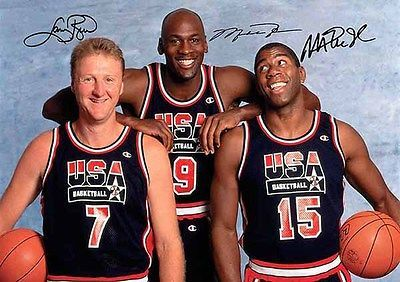 #Michael #jordan larry bird magic johnson 3 autograph signed #signature a4 poster,  View more on the LINK: 	http://www.zeppy.io/product/gb/2/290893248639/