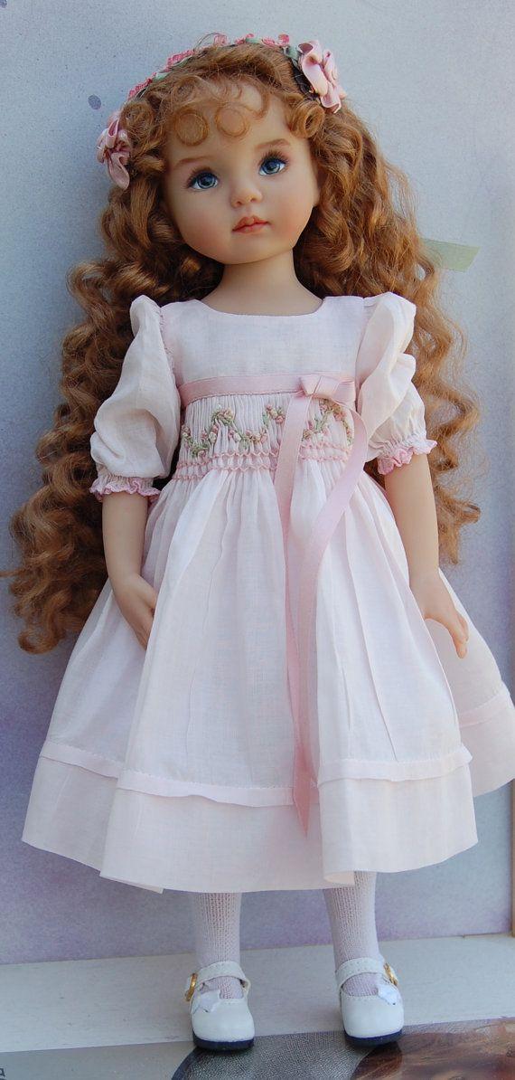 Dianna Effner poco querida muñeca colector pintadas por Kuwahidolls