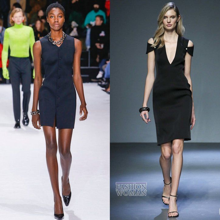 44e13439e5f Маленькое черное платье в коллекциях осень-зима 2018-2019 фото №3