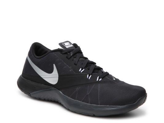 Men's Nike FS Lite Trainer 4 Training Shoe - - Black/Grey