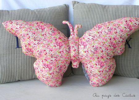 Jocelyn would love a butterfly pillow