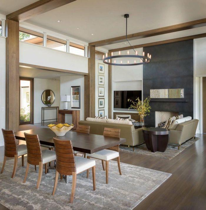 ▷ 1001 + ideas sobre cómo decorar un salón comedor | Salones | Home ...