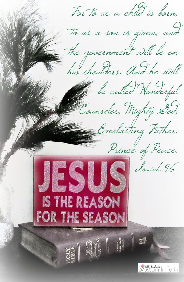 jesus-is-the-reason-for-the-season-isaiah-9_6 | Faith \'n Friends ...