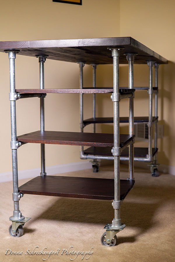 Industrial Pipe Desk Amp Shelving Plans Pipe Desks