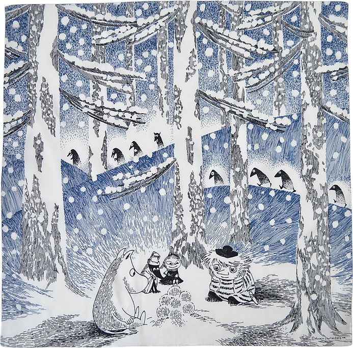 moomin winter snow - Google-haku