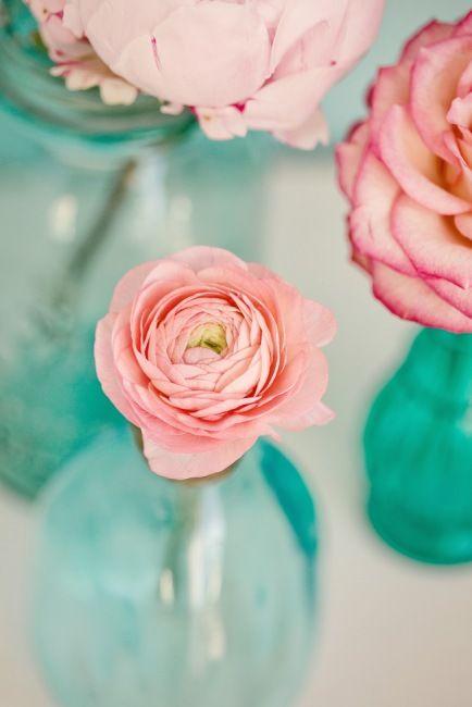 Картинки бирюзово розовый