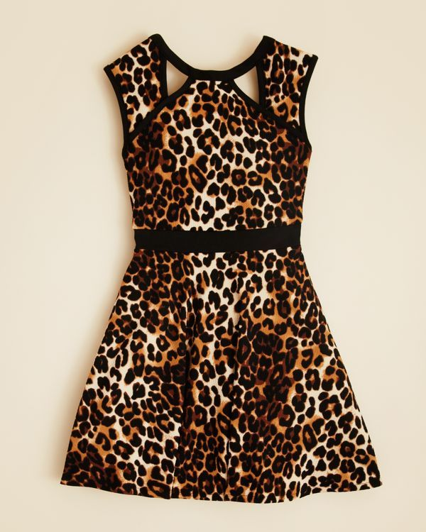Sally Miller Girls' Leopard Print Annie Dress - Sizes S-xl