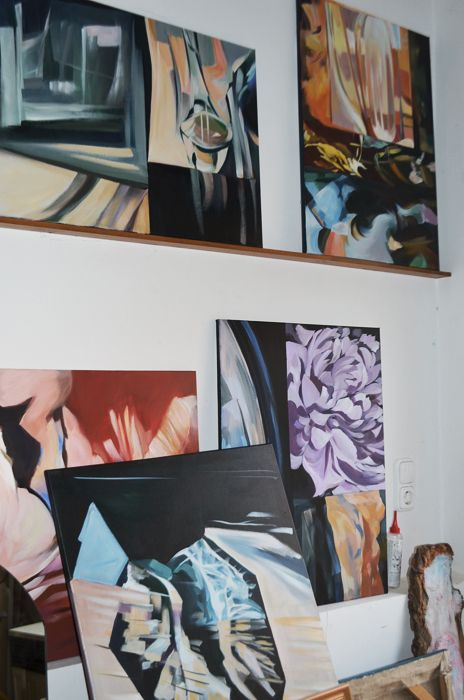 new works of Németh Andrea