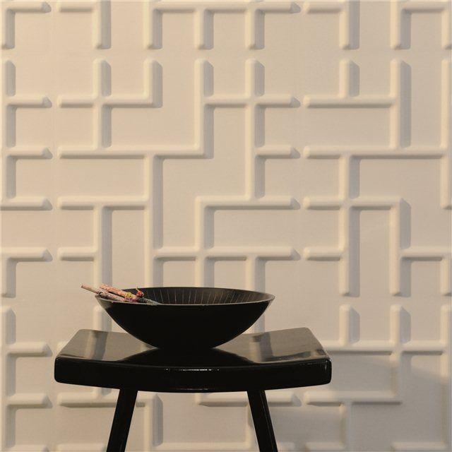 3D-Wandpaneel Tetris
