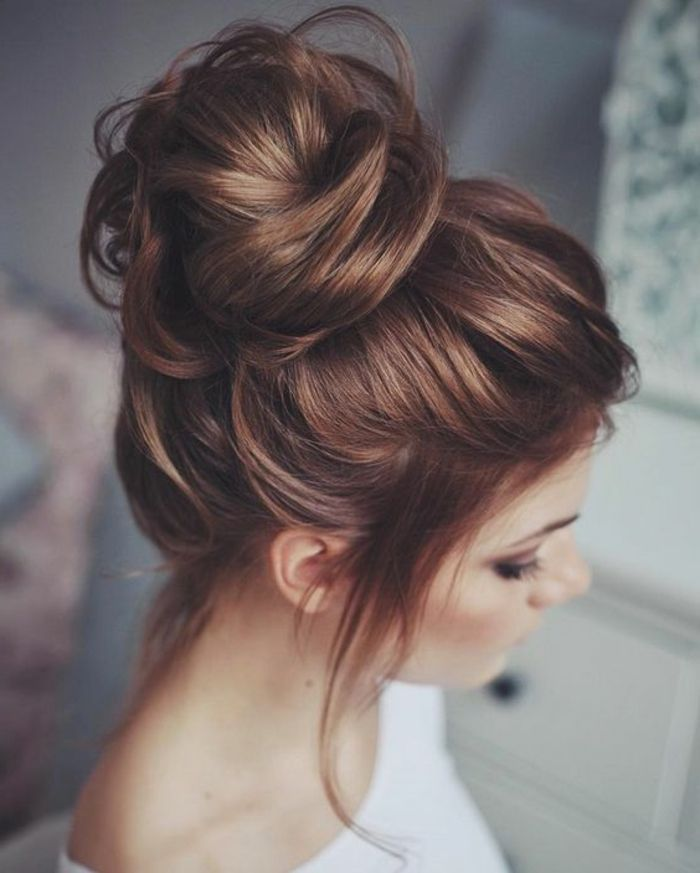 Pin Von Maus Mama Auf Haarfarbe Frisuren Frisur Hochgesteckt
