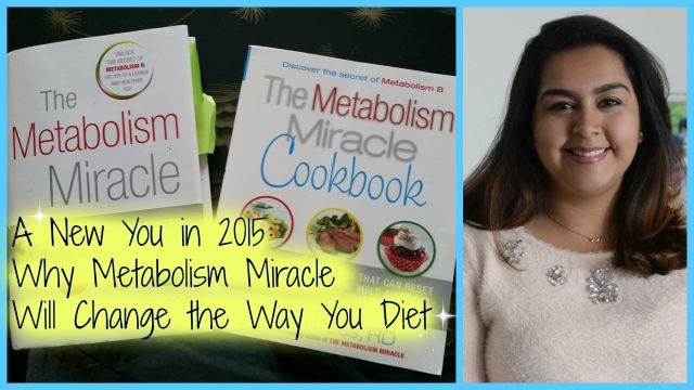 Read and my introduction to step 1 of the Metabolism Miracle diet.