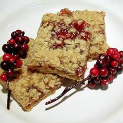 Rasberry Oatmeal bars