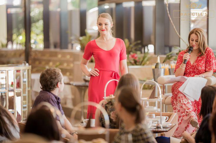 Bacchus | High Tea | High Tea High Fashion | Leona Edmiston  http://www.bacchussouthbank.com.au/MENU:/High_Tea.html