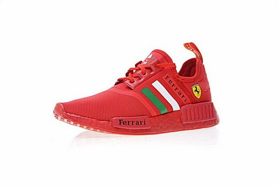 fd395679181c Ferrari X Adidas NMD R1 Boost Custom Triple Red Ba7788 Popular 2018 Shoe