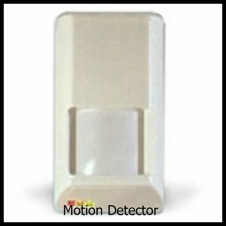 Motion Detector also available are Pet Immune Motion Detectors for pets up to 80 pounds.