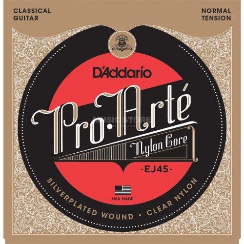 D'Addario cordes guitare classique, Normal,ProArte EJ45,filet rond