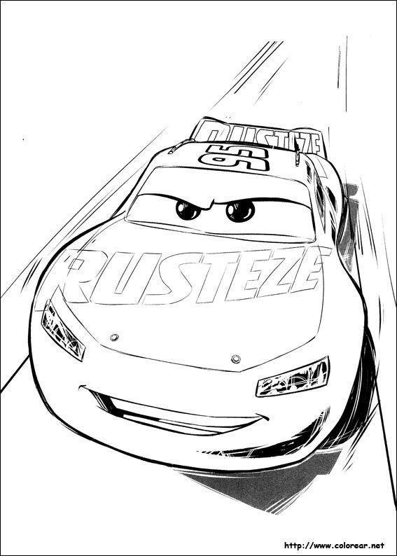 Dibujos Para Colorear De Cars 3 Coloring Pages Cars Coloring