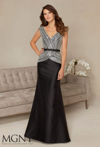 Długa, wieczorowa suknia Mori Lee w kształcie rybki