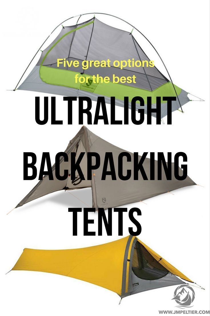 Pack too heavy?  Check out one of these ultralight backpacking tents to lighten your load.