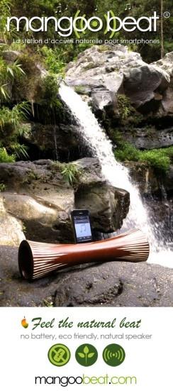 Mangoo beat ® - smartphone natural amplifier