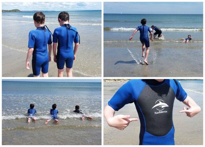 Beach Days with Konfidence