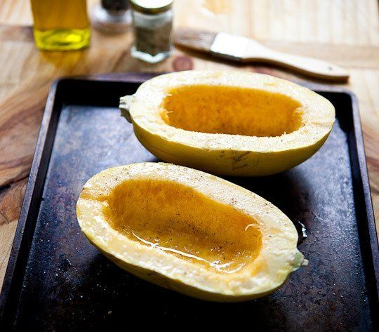 How to Cook Spaghetti Squash in the Oven Cooking Lessons from The Kitchn | The Kitchn