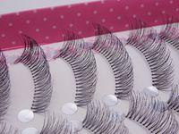 Бренд Черный 10 пар природных длинными накладные ресницы изгибая удлинение смешивания ресницы индивидуальный наращивание ресниц