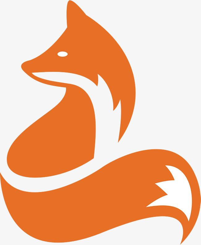Fox Animal Icon Cartoon Fox Vector Icon Vector Design Vector Animal Icon Fox Silhouette Fox Drawing